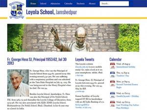 Frontpage of Loyola School, Jamshedpur