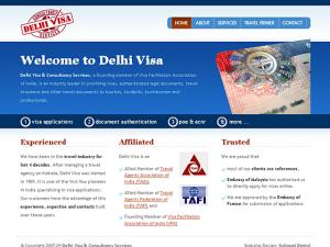 Delhi Visa & Consultancy services - Home Page