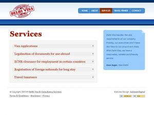 Delhi Visa & Consultancy Services - Services