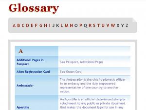 Delhi Visa & Consultancy Services - Glossary