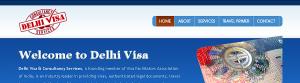 Delhi Visa & Consultancy Services // Masthead