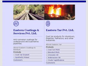 Eastern Tar / Coatings - Homepage