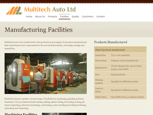 Multitech Auto Ltd. // Facilities page