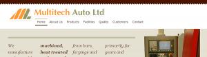 Multitech Auto Ltd. // Masthead