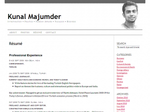Kunal Majumder - Resume
