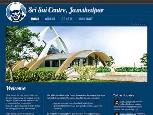 Sai Centre, Jamshedpur - Home page