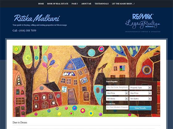 Ritika Malkani - Homepage